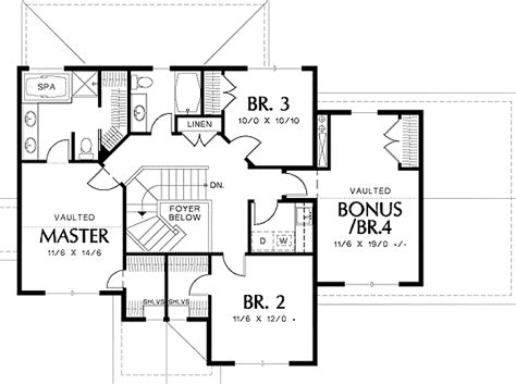 mission floor plans craftsman plan with mission style window 69314am 2nd