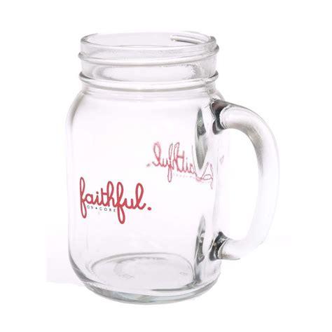 Mug Kaca Printing jual insight unlimited faithful kaca bening mug jar gelas harga kualitas terjamin