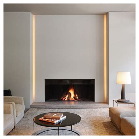 Lighting A Fireplace by 17 Best Ideas About Modern Fireplaces On