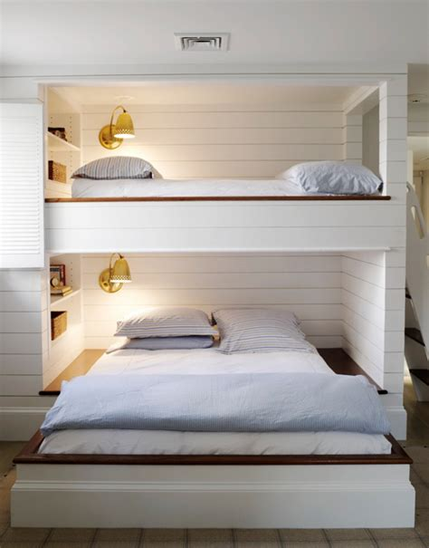 bunk beds for rooms built in bunk beds cottage boy s room kristen panitch interiors