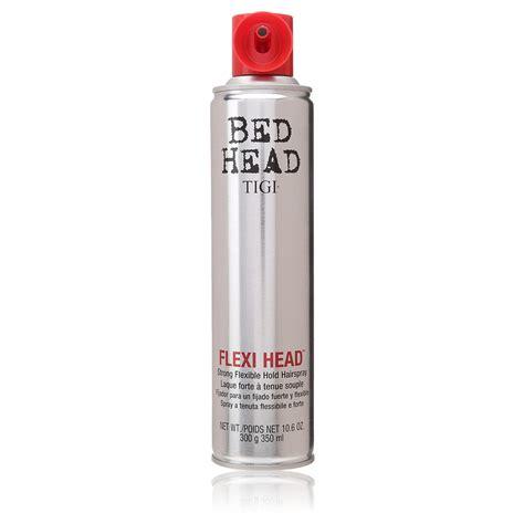 bed head hair spray tigi bed head flexi head strong flexible hold hair spray for unisex 10 6 ounce shop