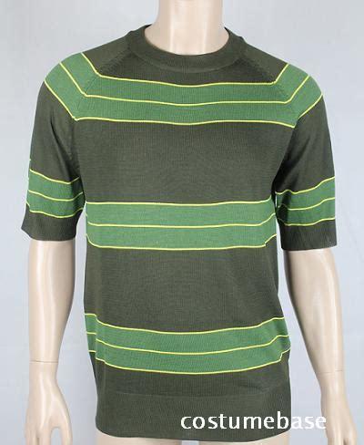 Nirvana 02 Raglan kurt cobain sweater green striped shirt costume nirvana