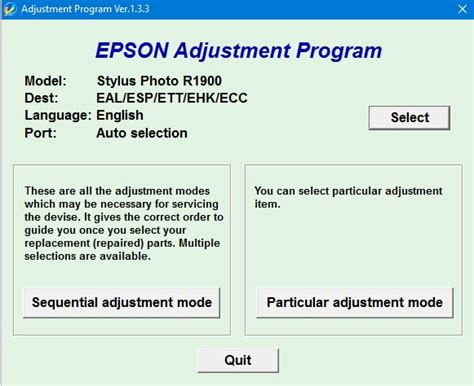 resetter epson b310n epson adjustment program r2000