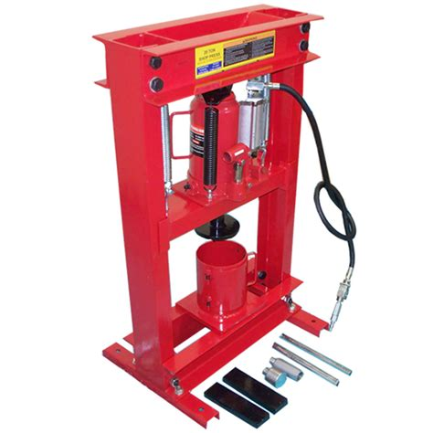 20 ton press combo 20 ton air hydraulic filter can crusher shop press