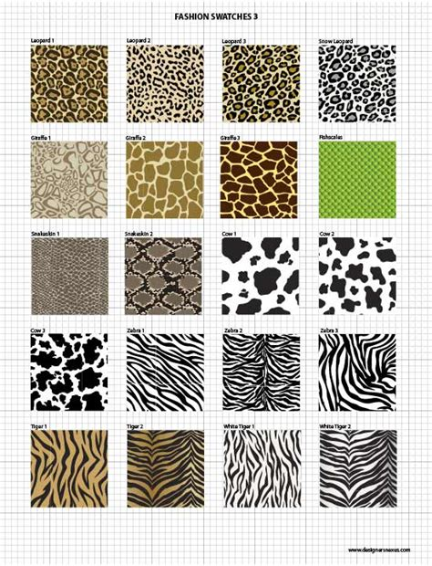 zebra pattern in excel vector fabric swatches fashion embellishments my