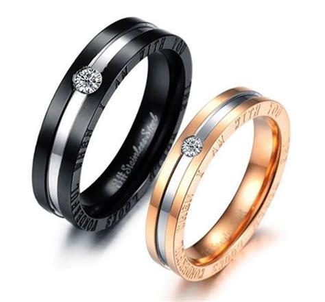 Promise Ring On Black Finger by Finger Ring Priyoshop Shopping
