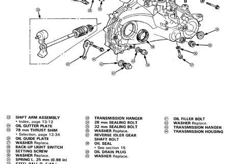 free download parts manuals 1998 honda accord transmission control manual transmission fill plug s honda tech