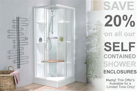 self contained bathroom self contained shower cubicles from bathroom express walk in shower enclosure