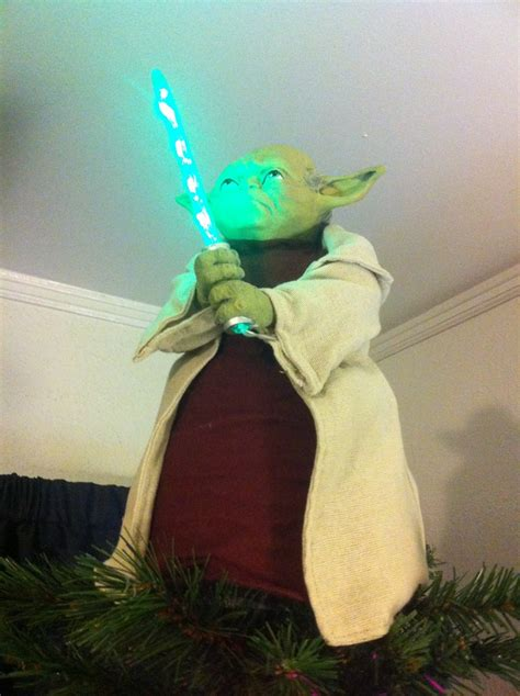 yoda tree topper wow all things yoda and star wars
