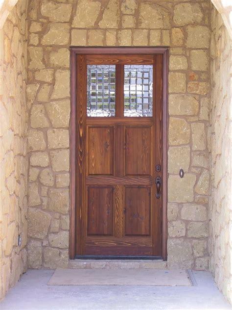 Rustic Exterior Doors Rustic Doors Traditional Front Doors By Doors Company Inc