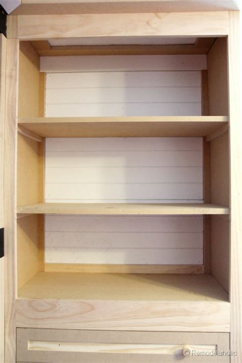 pre built shelves prefab bookcases built ins how to build