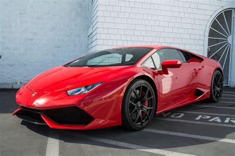 Rosso Mars Lamborghini Huracan Is Red Hot