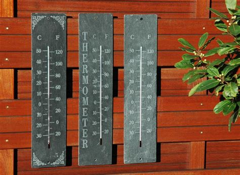 thermom 232 tre de jardin en schiste 45 x 10 cm jardideco