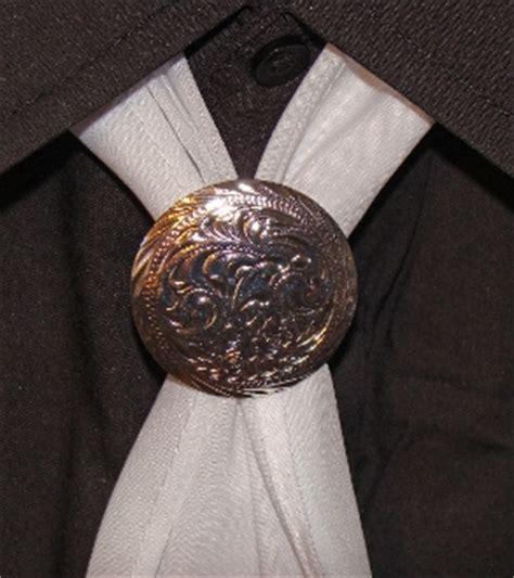 medium size silver western scarf