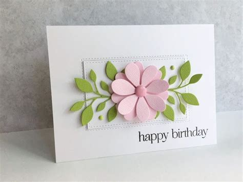 Handmade Flower Cards - 468 best images about birthday cards on