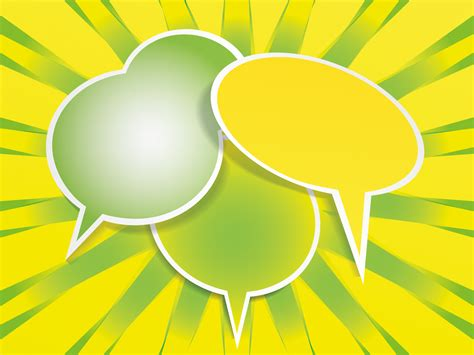 Speech Balloon Backgrounds 3d Templates Free Ppt Grounds And Powerpoint Powerpoint Templates For