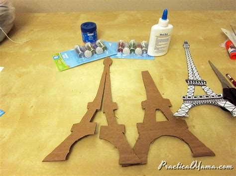 the 25 best ideas about eiffel tower craft on