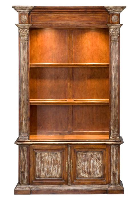 lighted bookshelves solid walnut bookcase cabinet island colonial lighted new free shipping ebay
