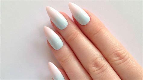 imagenes de uñas acrilicas puntiagudas u 241 as stiletto o punta de lanza la nueva tendencia en