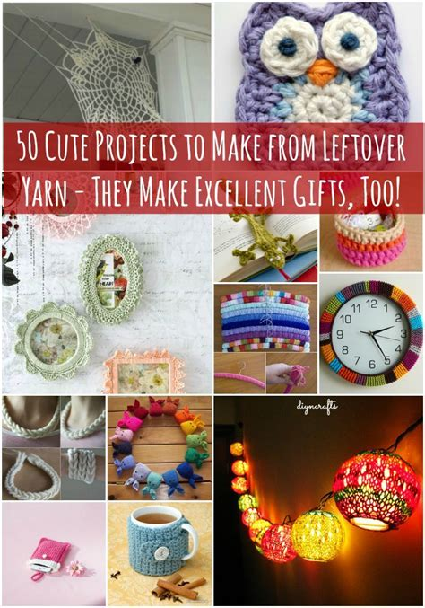 yarn diy projects 50 projects to make from leftover yarn they make