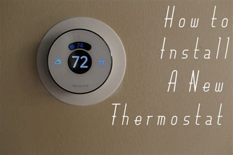 true comfort thermostat installation how to install a new thermostat
