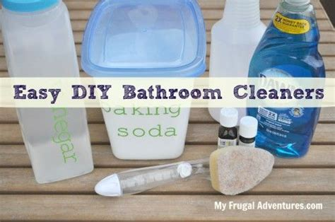 bathtub cleaner homemade 1000 images about bathroom cleaning tips on pinterest