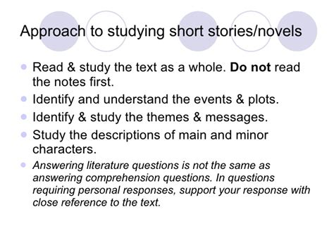 identifying themes in short stories learning literature effectively for spm