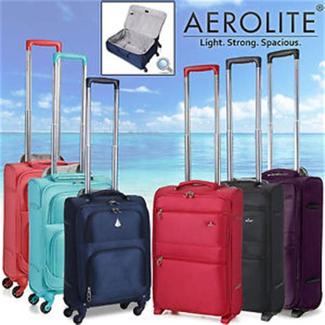 cabin cases 55x40x20 aerolite light weight lightest suitcase trolley cabin