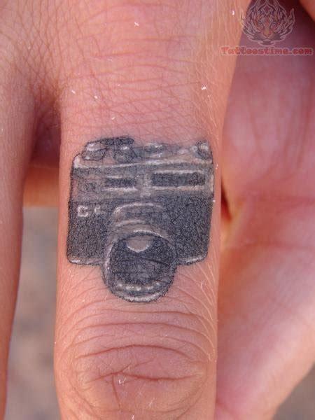 tattoo camera finger camera ring finger tattoo