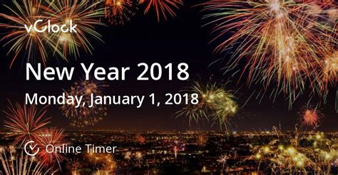new year date 2018 when is new year 2018 timer