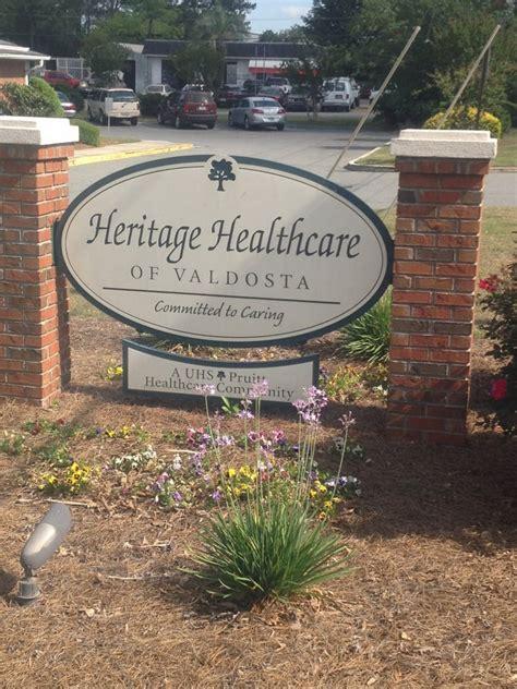 heritage house nursing home 2501 n st valdosta