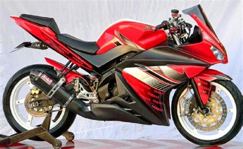 Motor Modif Sport by 15 Gambar Modif Motor Yamaha Terbaru Sport Modifikasi
