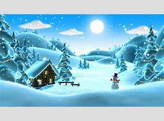 动态主题-冬季雪卡通 Cartoon Winter Live Wallpaper v1.0.7 - 安卓主题 - 飞鹏网 Free Clip Art Christmas Theme