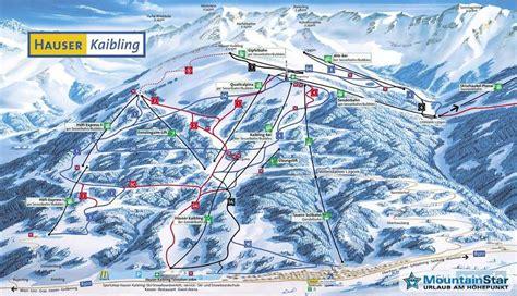 skigebiet hauser kaibling skigebiet pistenplan skigebiet hauser kaibling