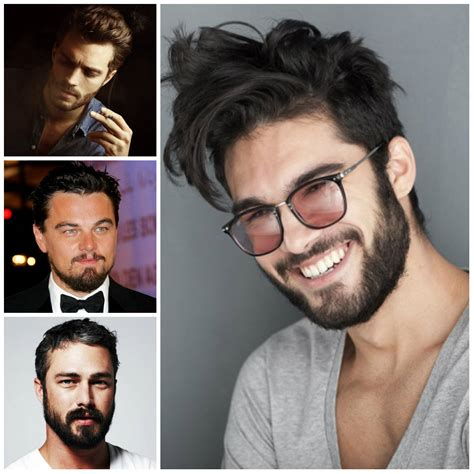 rectangle face shape hairstyles for men with beards beard types for face shapes