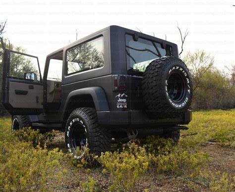 jeep cer conversion mahindra thar to jeep wrangler conversion by jeep studio