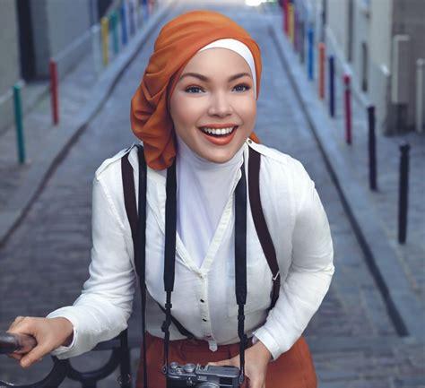 Busana Muslim Casual baju muslim casual wags dan trend model baju muslim