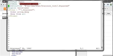 format htaccess file exles of htaccess web directory password protected