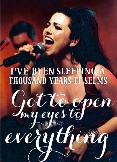 Im To See Evanescence by Bring Me To Evanescence And Evanescence Lyrics On