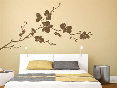Orchidee Im Schlafzimmer by Wandtattoo Orchidee Wandtattoo Net