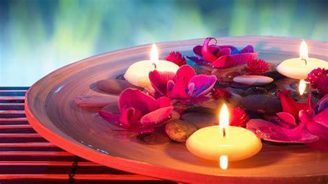 imagenes relajantes para fondo escritorio petals candles and spa fondos de pantalla gratis para
