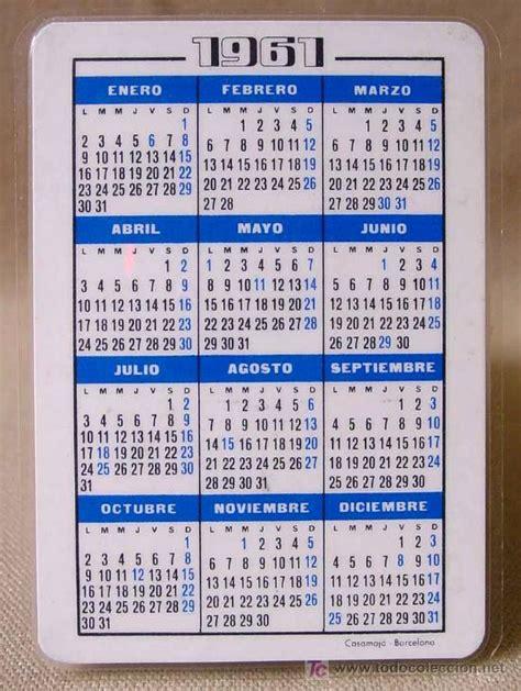 Calendario De 1961 Calendario 1961 Hoechst Iberica Medicamentos C Comprar