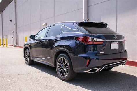 lexus rx blacked out the 2016 my update includes blacked out c pillars lexus