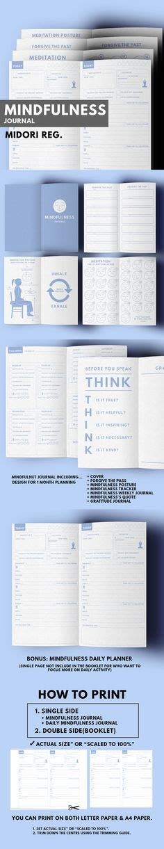 50 Daily Weekly Challenge Ideas To Tackle In 2015 Mindfulness Journal Template