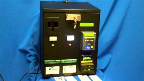 Credit Card Vending Machine For - credit card debit rfid dispenser vending machine youtube