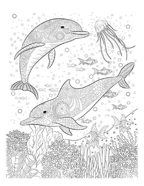 marine fish coloring pages adult coloring pages saltwater fish printable adult