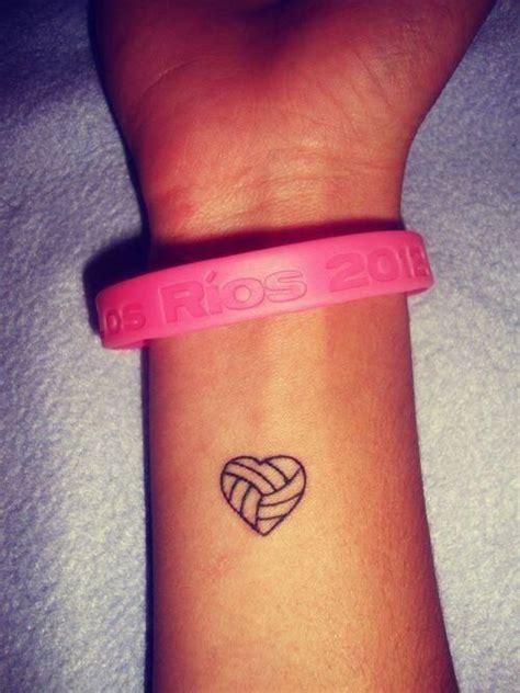 tattooed heart x factor small hand arm tattoos volleyball tattoos volleyball