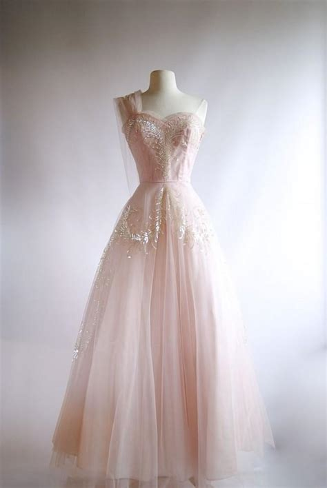 vintage 50s prom dresses prom 1950s pink tulle evening gown vintage 50s pink prom