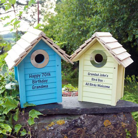 Bird Box by Personalised Wooden Bird Box By Jonny S