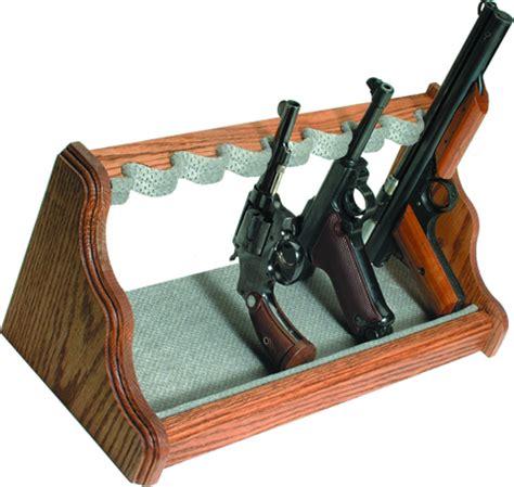 Handgun Storage Rack nra gun safes accessories storage options oak pistol